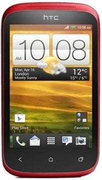 HTC-Desire-C-Red