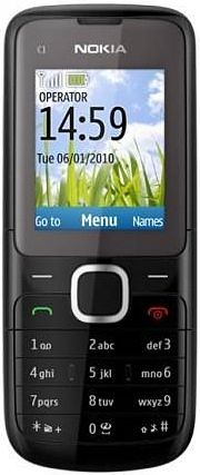 Nokia-C1-01-Dark-Grey