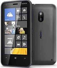 Nokia Lumia 620 Black Mobile Phone Handset