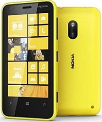 Nokia Lumia 620 Yellow Mobile Phone Handset