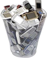 Recycling your mobile phone